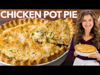 The Best HOMEMADE CHICKEN POT PIE RECIPE I Ever Made