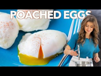How to Make Perfect POACHED EGGS - Cooking Basics