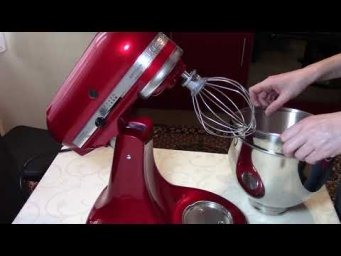 Мой миксер Kitchenaid