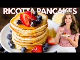 RICOTTA PANCAKES  - Easy Breakfast Pancakes Recipe