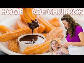How To Make Easy Homemade Churros | Churros Recipe