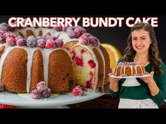 Cranberry BUNDT CAKE (Easy Cranberry Orange Cake)